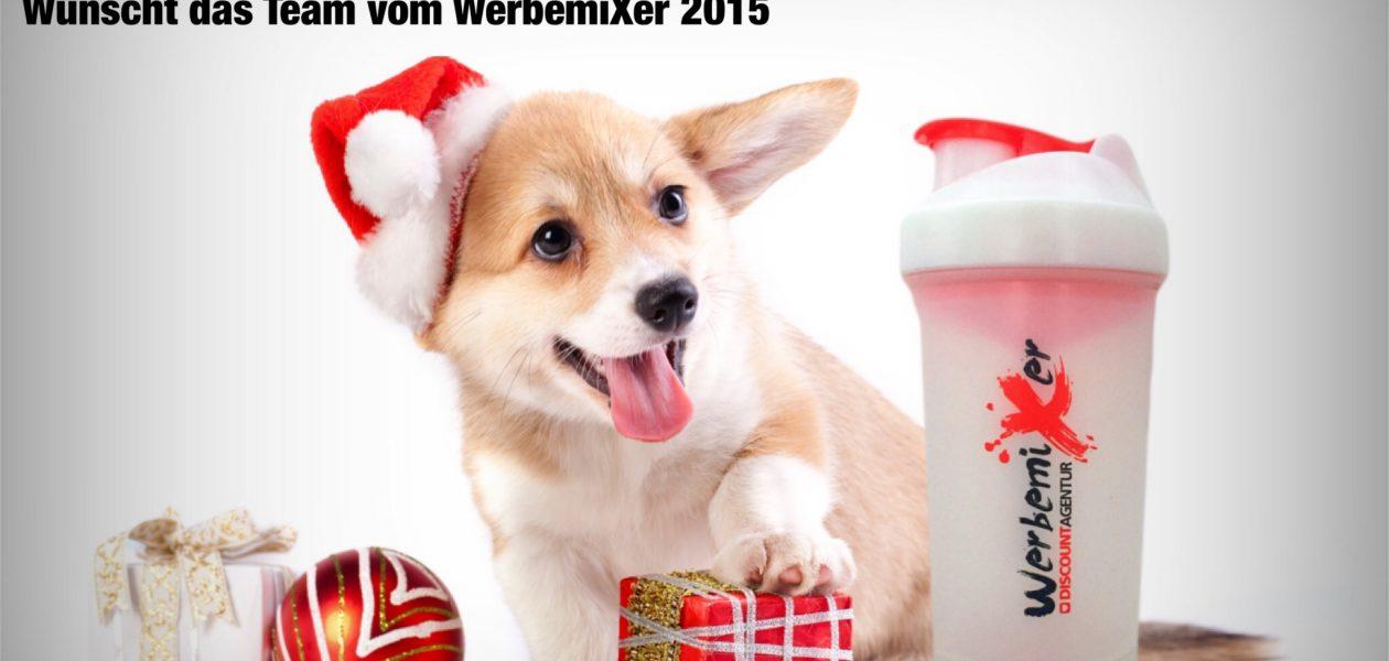 Der WerbemiXer feiert die Feiertage